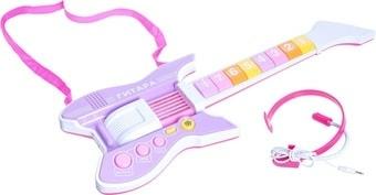 Интерактивная игрушка Bondibon Электрогитара с головным микрофоном ВВ4396
