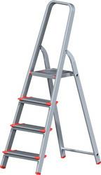 Лестница-стремянка Новая высота NV 511 алюминиевая индустриальная 4 ступени (5110104)