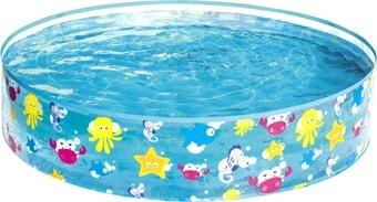 Каркасный бассейн Bestway Подводный мир 55028 (122×25)