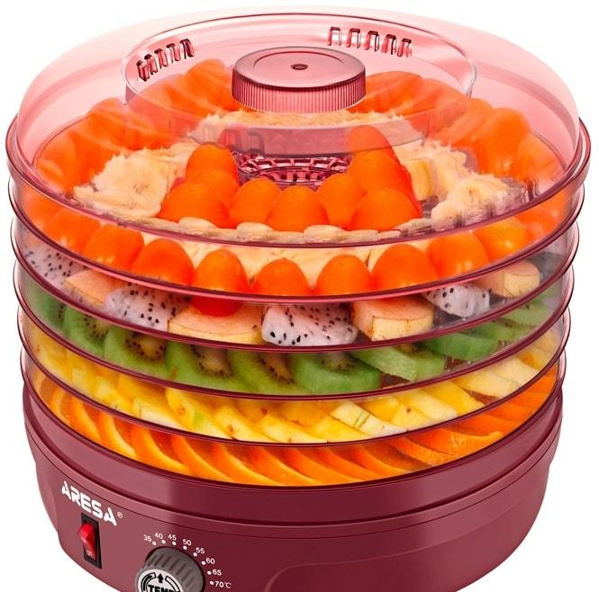 Сушилка для овощей и фруктов Aresa AR-2602 [FD-441]