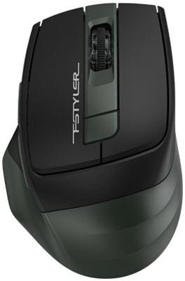 Мышь A4Tech Fstyler FB35 (черный/зелёный)