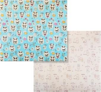 Игровой коврик Evolution Print D (мишка/панда в саду)