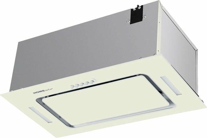 Кухонная вытяжка HOMSair Crocus Push 52 Glass (бежевый)