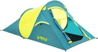 Треккинговая палатка Bestway Coolquick 2 (голубой/желтый)