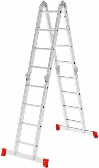 Лестница-трансформер Новая высота NV 232 многофункциональная 4×5 ступеней