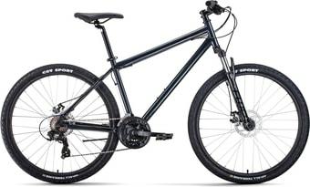 Велосипед Forward Sporting 27.5 2.2 disc р.17 2021 (черный)