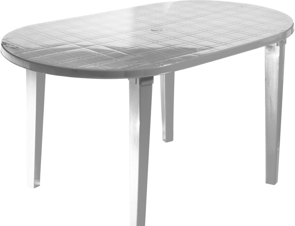Стол Стандарт пластик 130-0021-01 (белый)