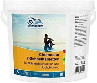 Chemoform Кемохлор T быстрорастворимые таблетки 5кг