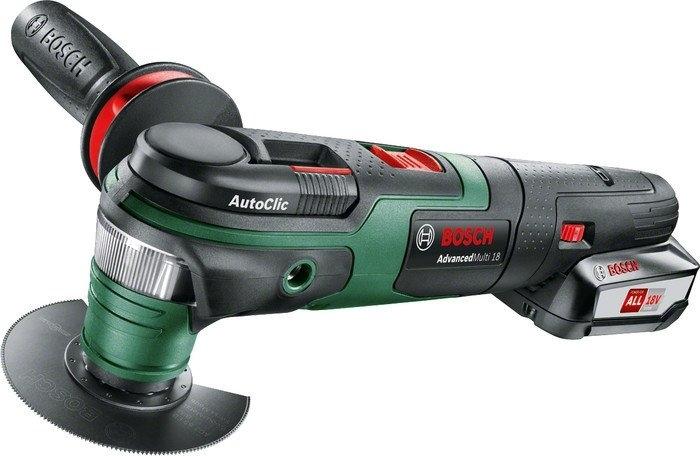 Мультифункциональная шлифмашина Bosch AdvancedMulti 18 (с аккумулятором)