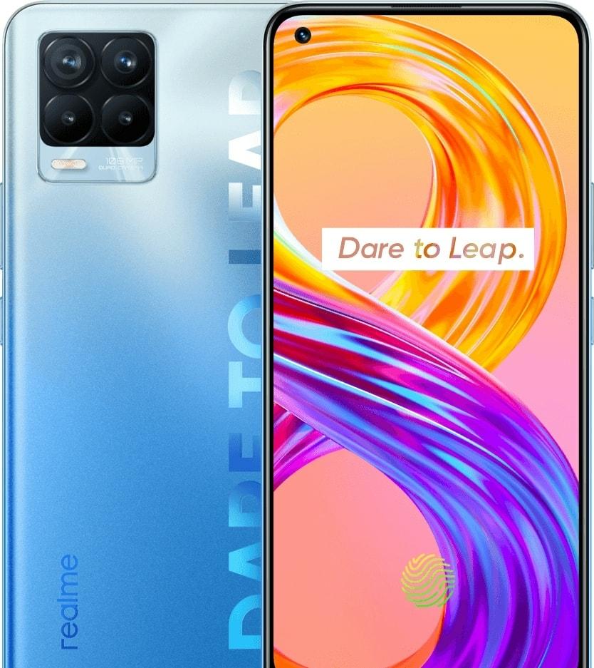Смартфон Realme 8 Pro 8GB/128GB (бесконечный синий)