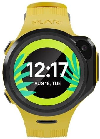 Умные часы Elari KidPhone 4GR (желтый)