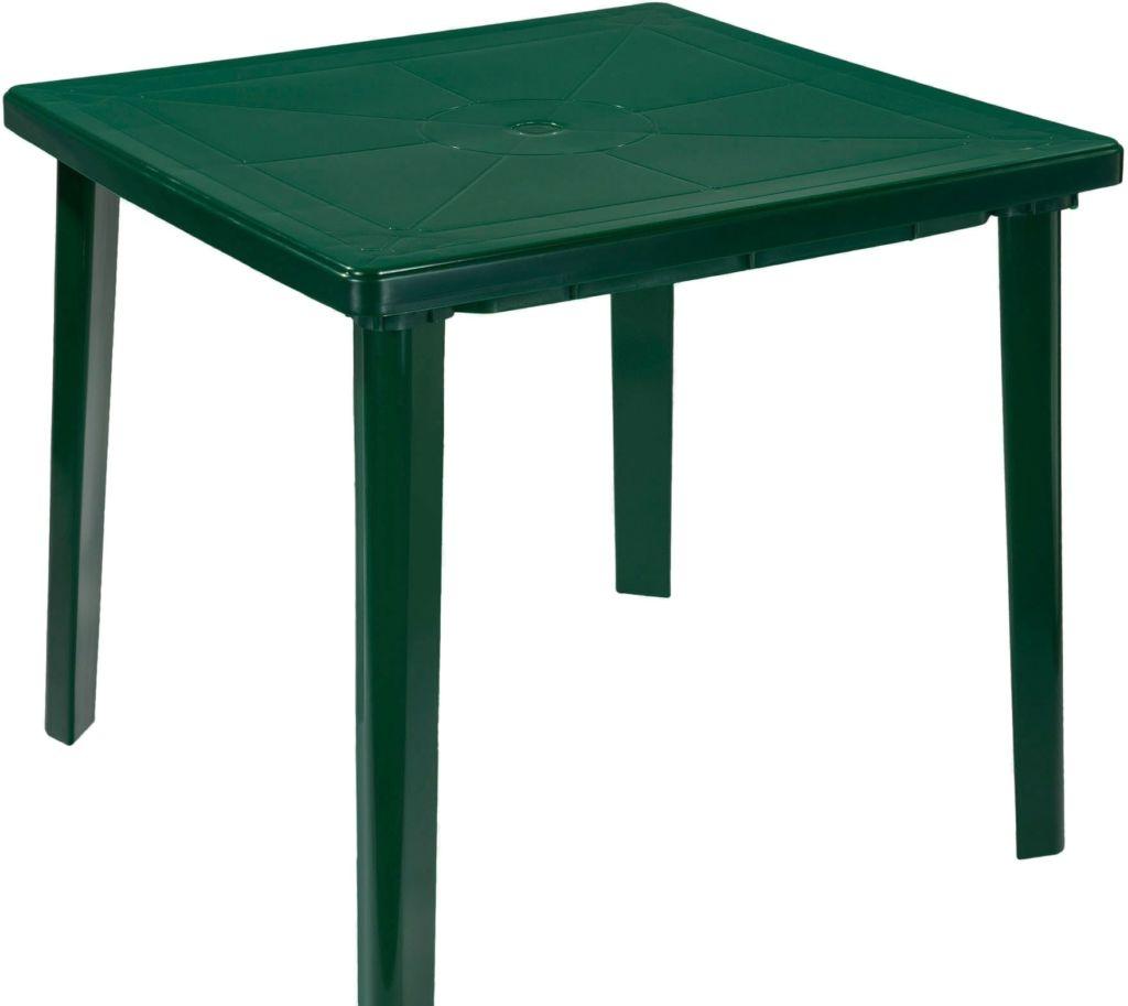 Стол Стандарт пластик 130-0019-24 (темно-зеленый)
