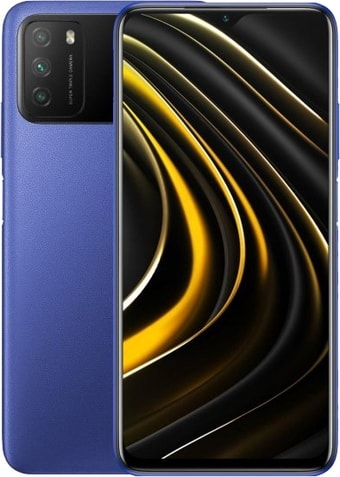 Смартфон POCO M3 4GB/128GB международная версия (синий)