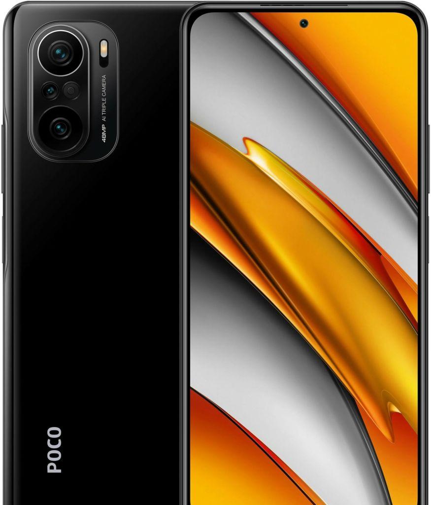 Смартфон POCO F3 8GB/256GB международная версия (черный)