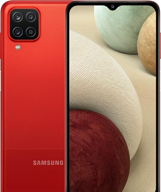 Смартфон Samsung Galaxy A12 SM-A125F 4GB/128GB (красный)