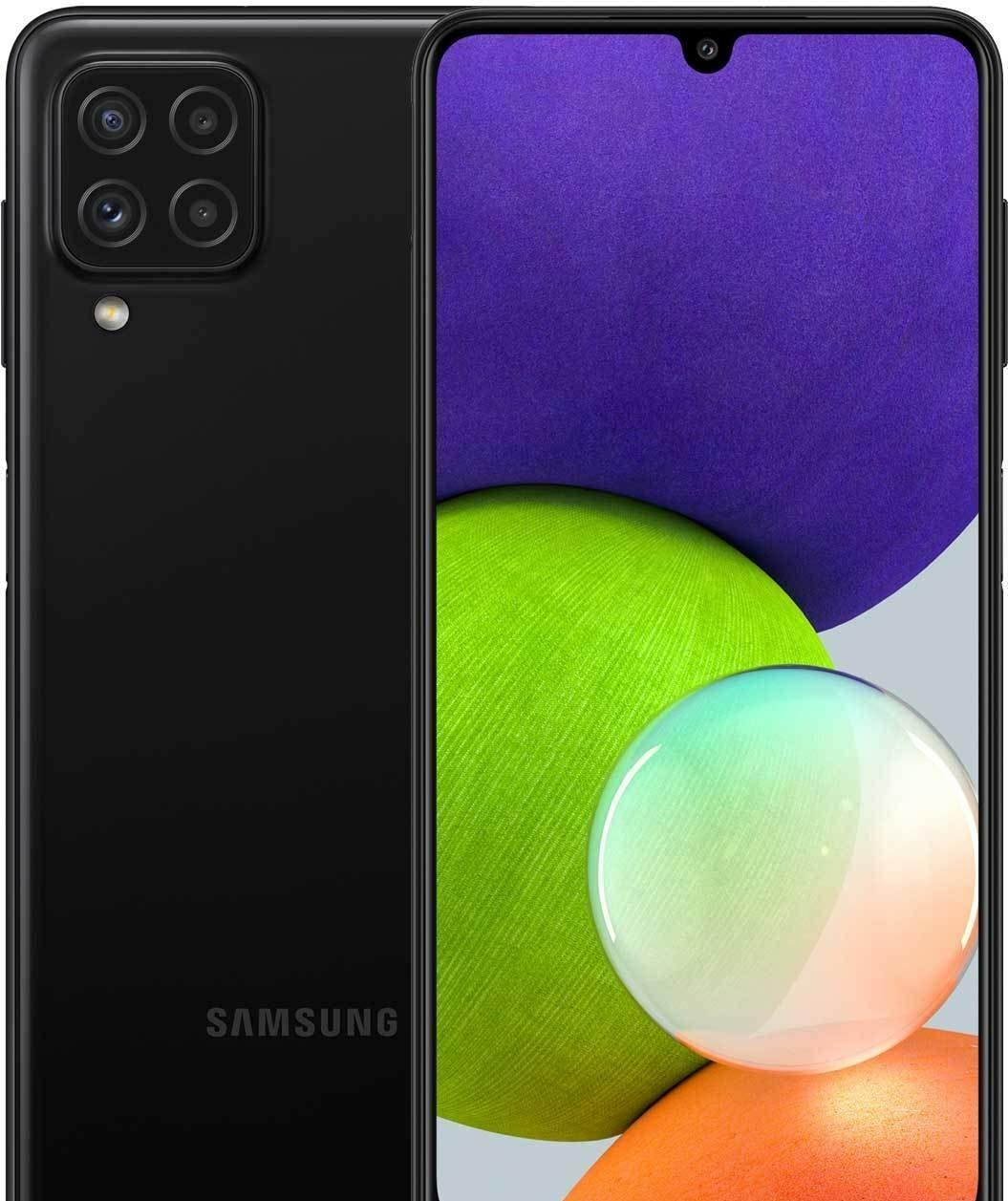 Смартфон Samsung Galaxy A22 SM-A225F/DSN 4GB/128GB (черный)