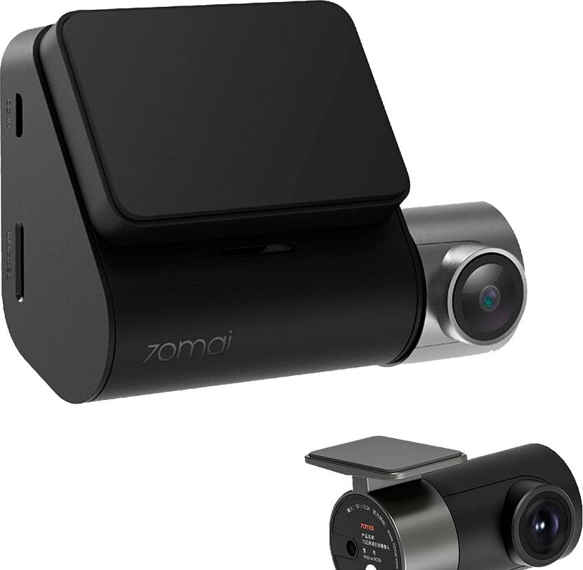Автомобильный видеорегистратор Видеорегистратор-GPS информатор (2в1) 70mai Dash Cam Pro Plus A500S-1