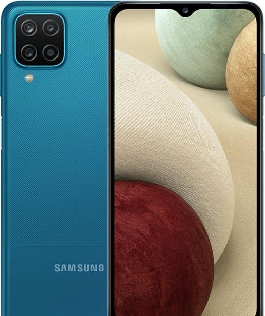 Смартфон Samsung Galaxy A12 SM-A125F 4GB/128GB (синий)