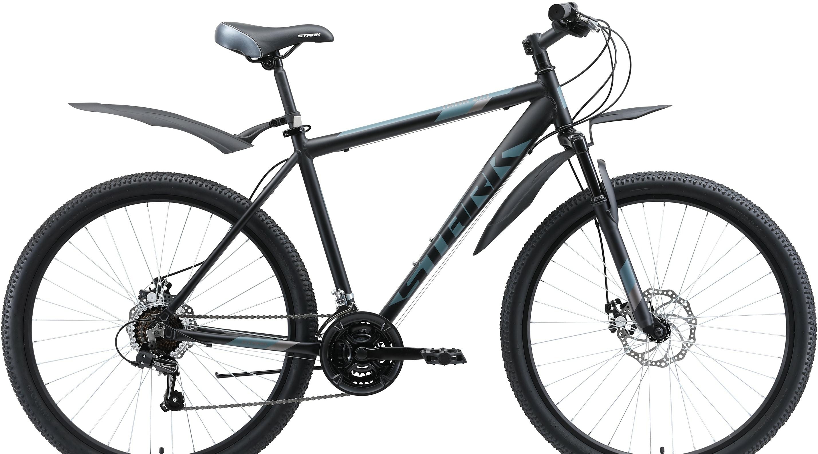 Велосипед Stark Tank 27.1 D р.18 2020 (черный/серый)