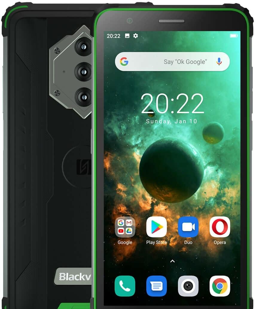 Смартфон Blackview BV6600 (зеленый)