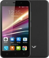 Смартфон Vertex Impress Luck (черный)