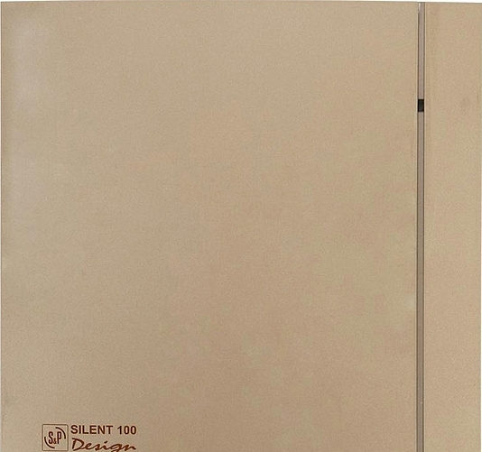Осевой вентилятор Soler&Palau Silent-100 CZ Champagne Design — 4C [5210607200]