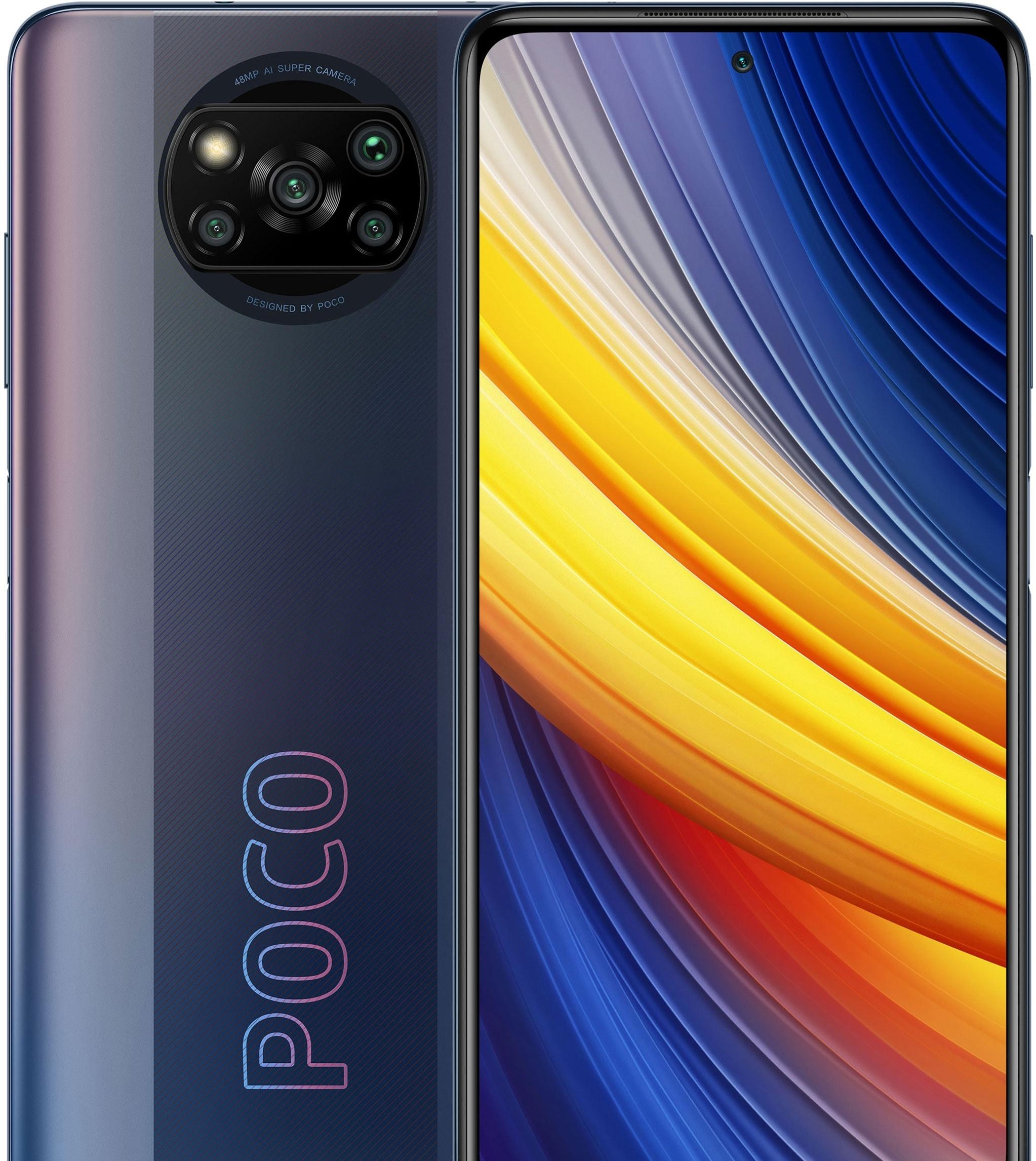 Смартфон POCO X3 Pro 6GB/128GB международная версия (черный)