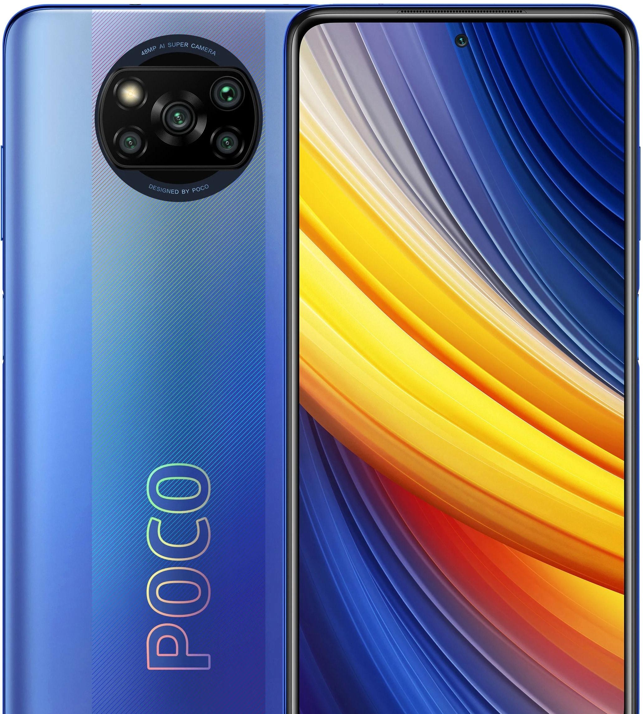 Смартфон POCO X3 Pro 6GB/128GB международная версия (синий)