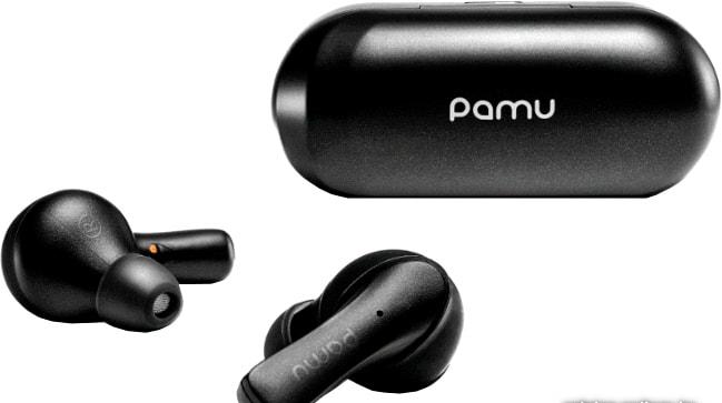 Наушники Padmate Slide Mini T6C (черный)