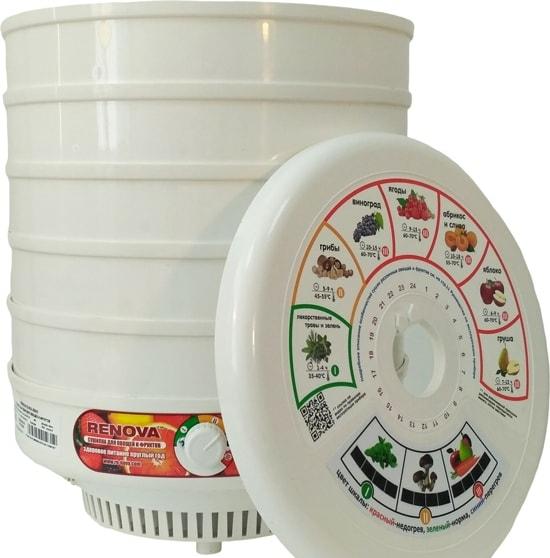 Сушилка для овощей и фруктов Renova DVN31-500/5