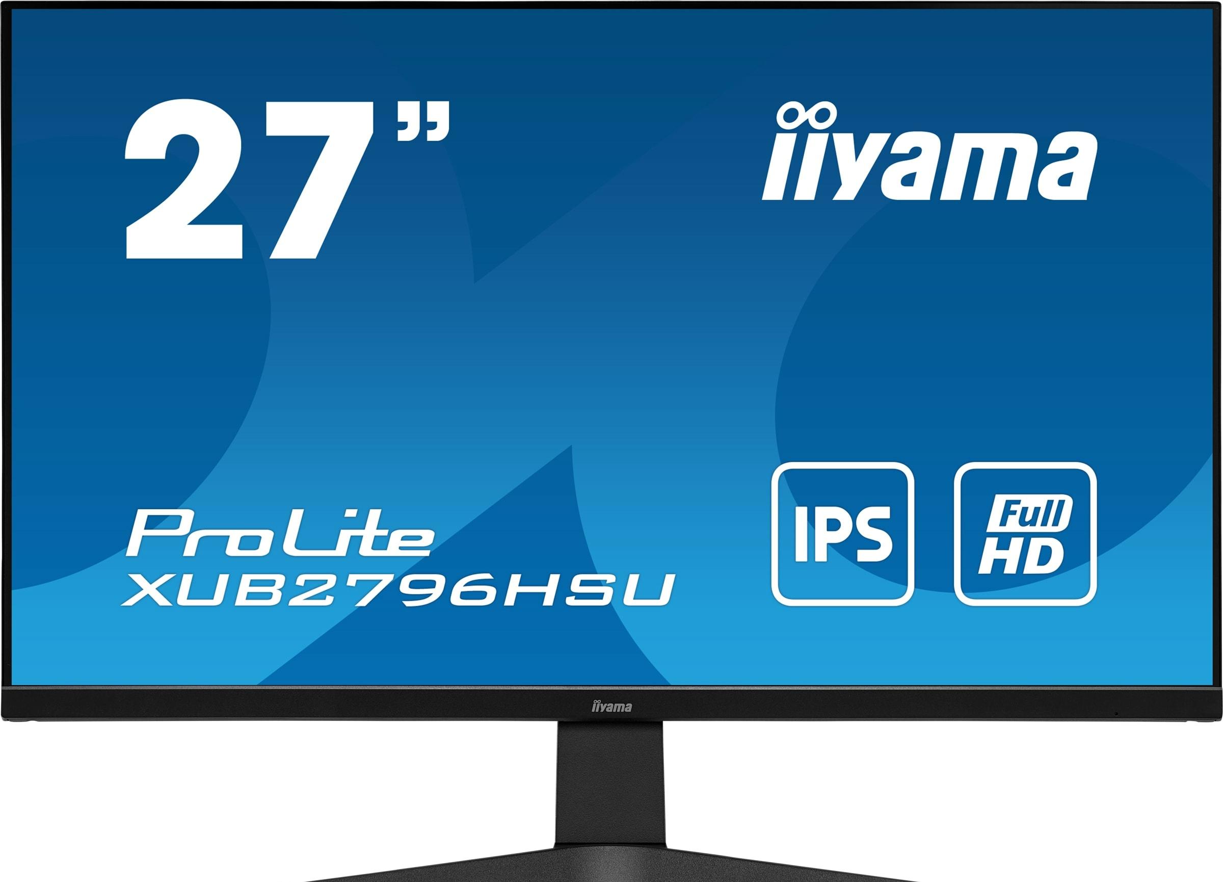 Монитор Iiyama ProLite XUB2796HSU-B1
