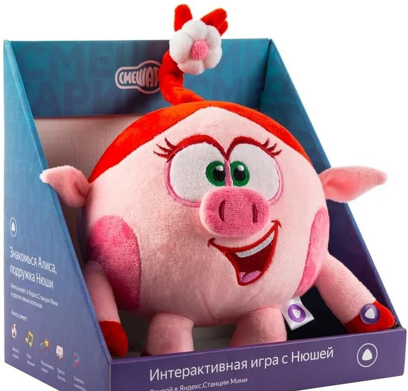 Интерактивная игрушка Яндекс Смешарики Нюша