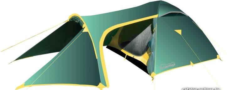 Треккинговая палатка TRAMP Grot 3 v2