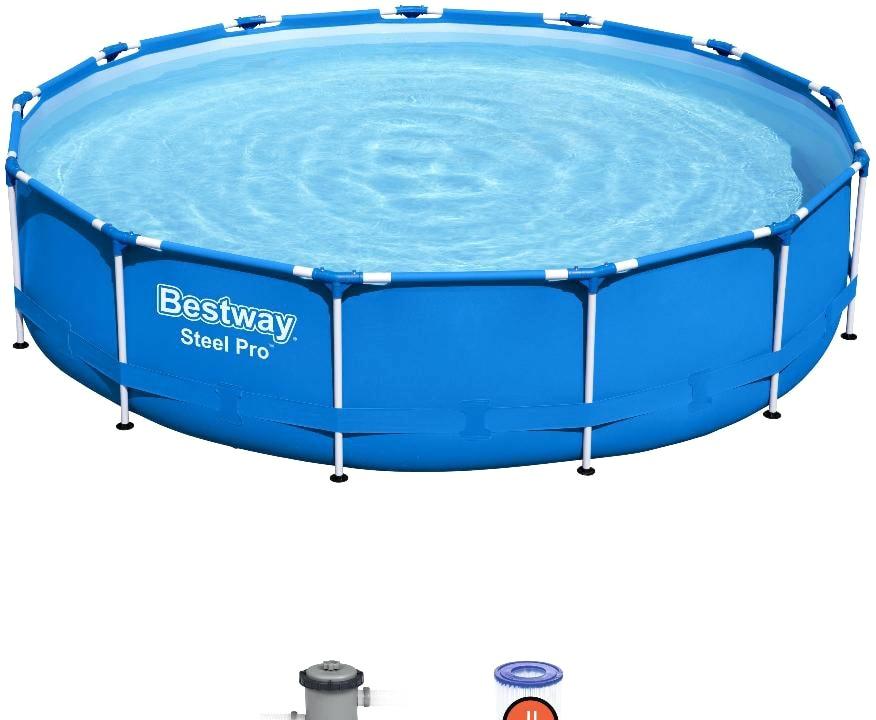 Каркасный бассейн Bestway Steel Pro 5612E (396×84)