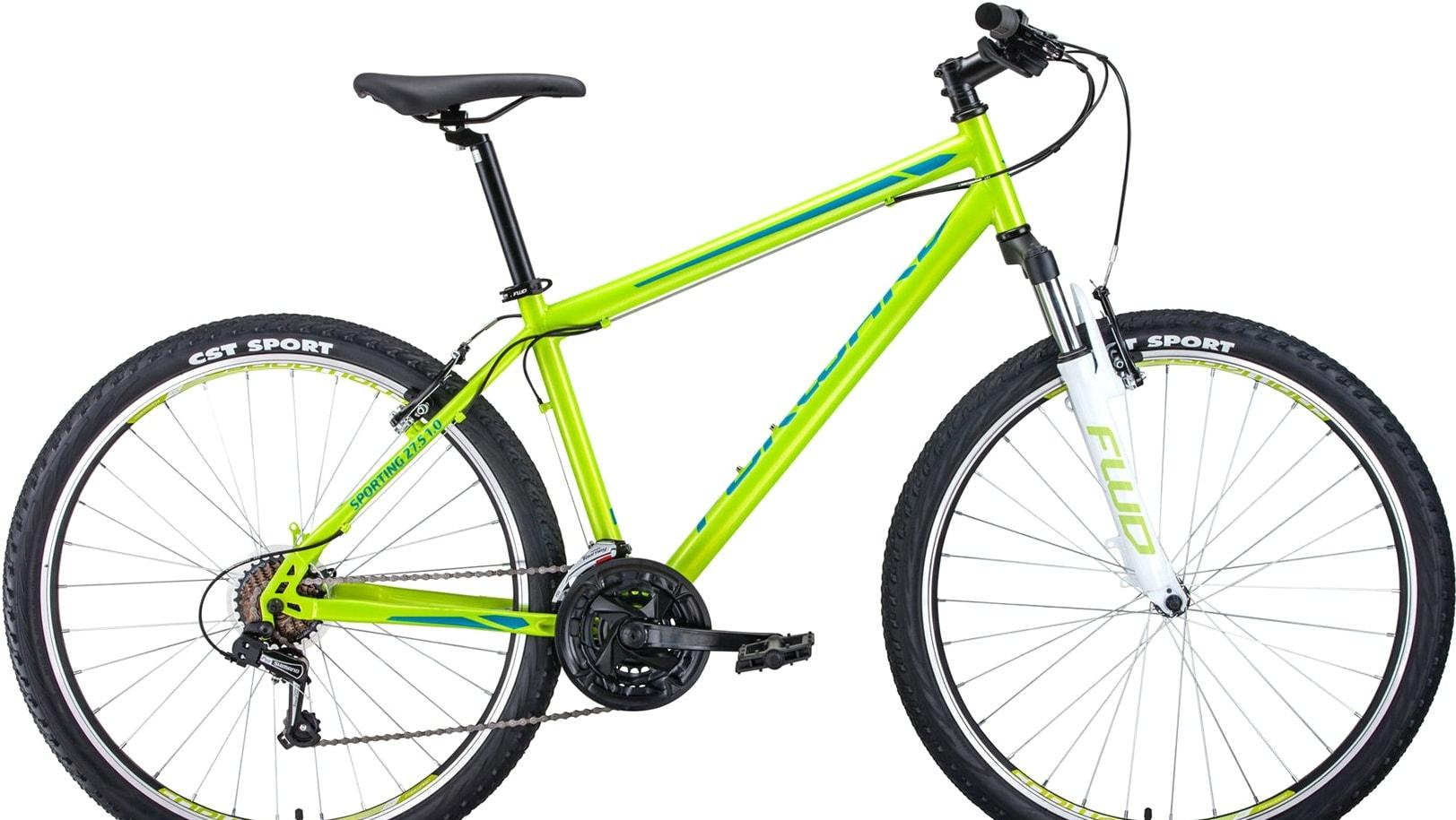 Велосипед Forward Sporting 27.5 1.0 р.19 2020 (зеленый)