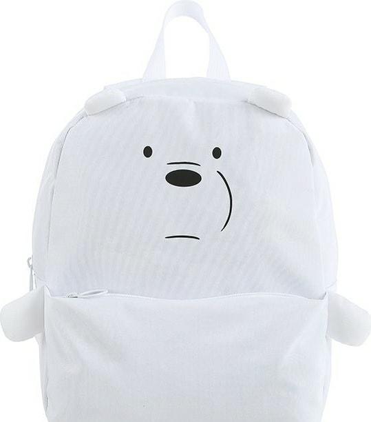 Рюкзак Miniso We Bare Bears (белый)