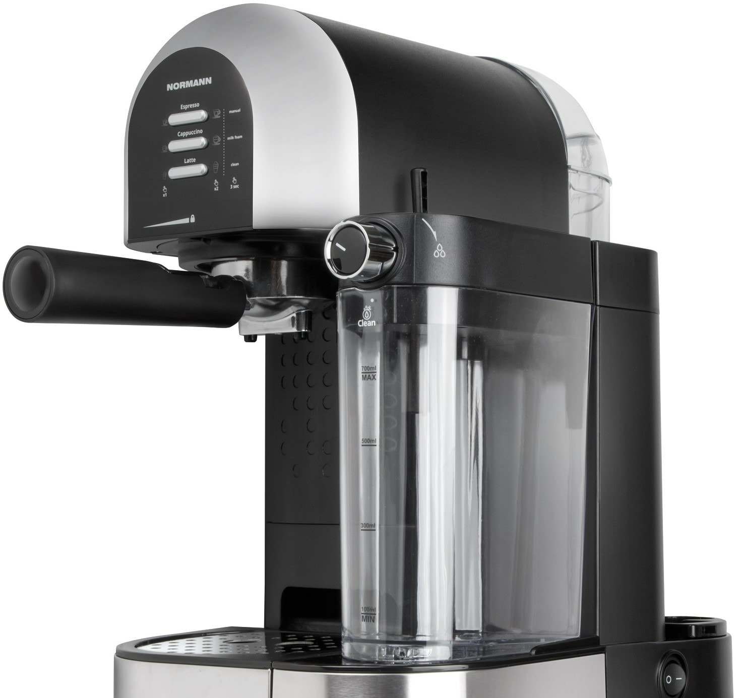 Рожковая помповая кофеварка Normann ACM-526