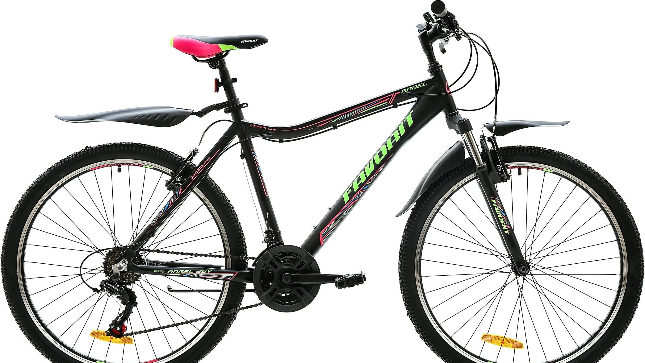 Велосипед Favorit Angel 26 V р.15 2020 (черный)