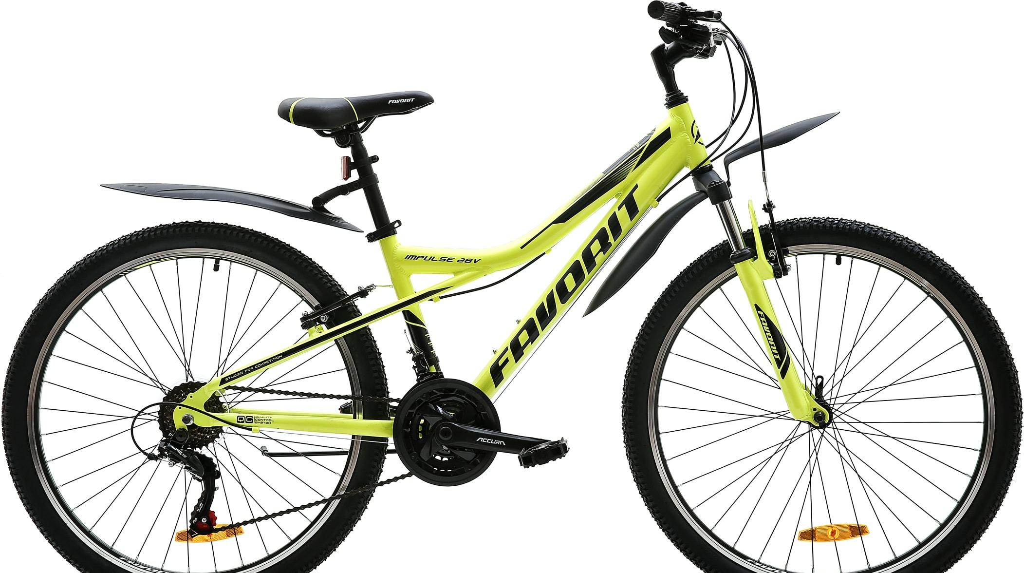 Велосипед Favorit Impulse 26 V 2020 (зеленый)