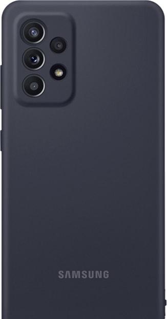Чехол для телефона Samsung Silicone Cover для Samsung Galaxy A52 (черный)