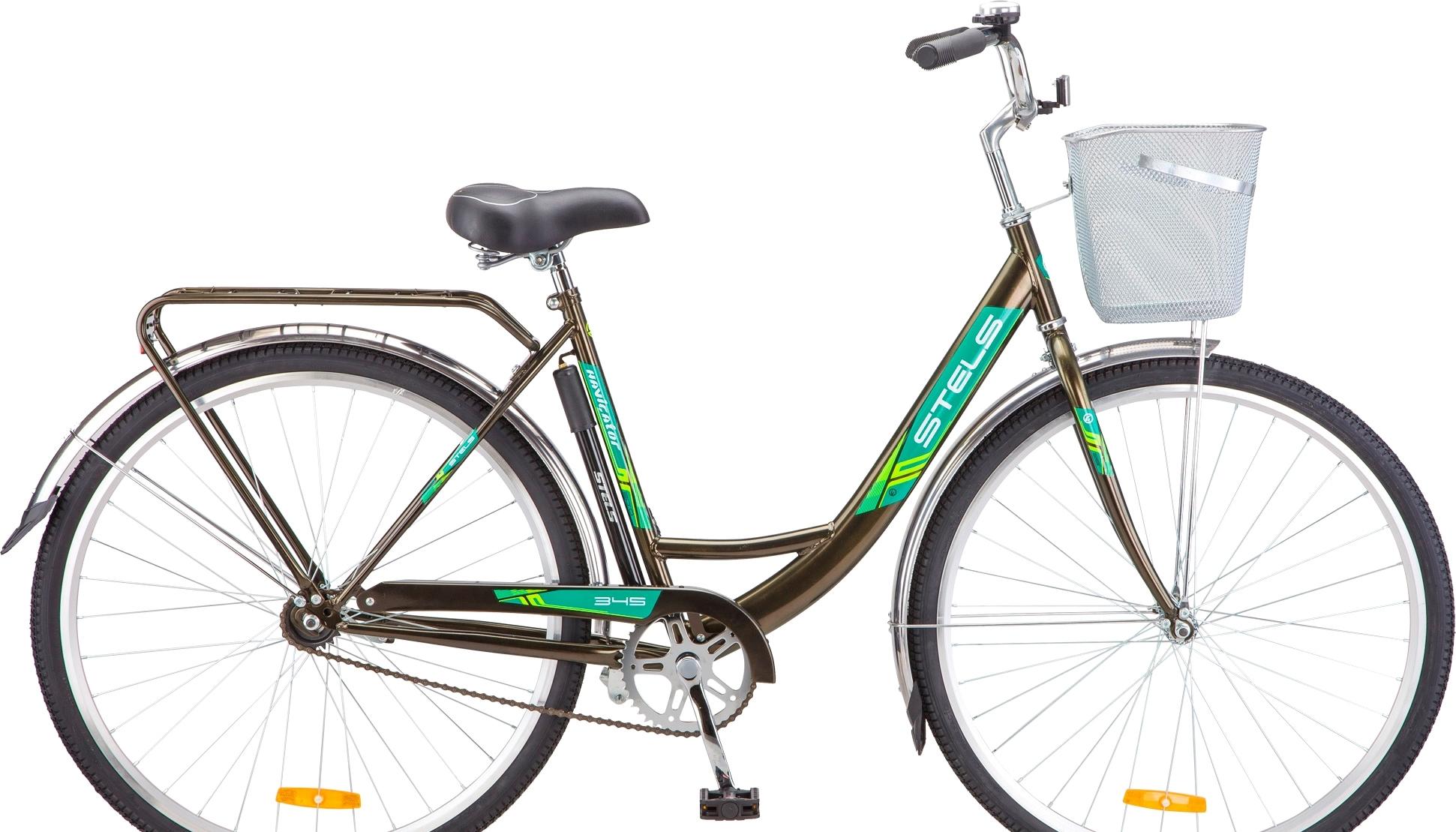 Велосипед Stels Navigator 345 28 Z010 (коричневый, 2019)
