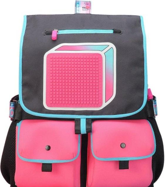 Рюкзак Upixel Model Answer U18-010 (черный/розовый)