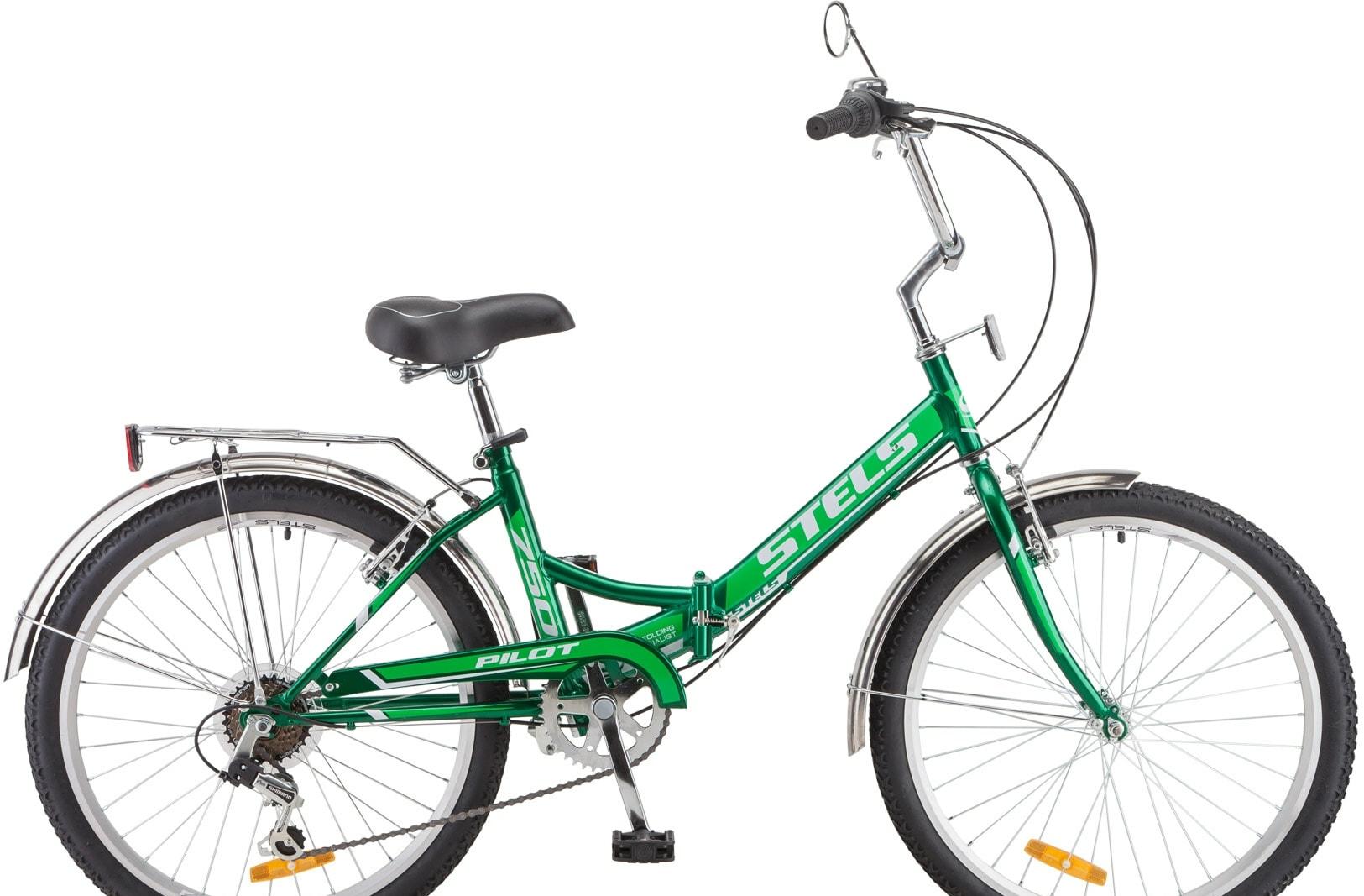 Велосипед Stels Pilot 750 24 Z010 2020 (зеленый)
