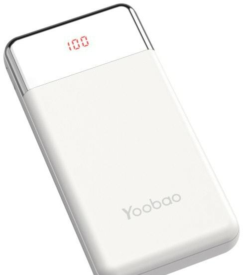 Портативное зарядное устройство Yoobao PD30W (белый)