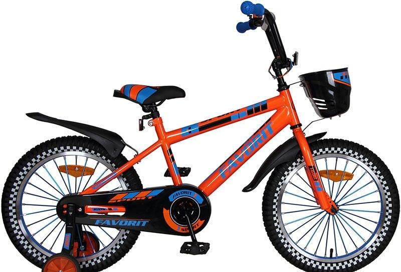 Детский велосипед Favorit Sport 18 (оранжевый, 2020)