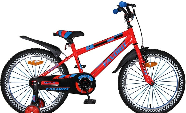 Детский велосипед Favorit Sport 20 (красный, 2020)