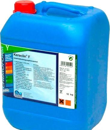 Химия для бассейна Chemoform Кераклин F 10 кг