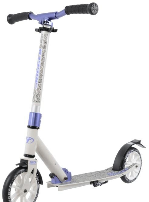 Самокат Tech Team Jogger 180 2020 (белый/фиолетовый)