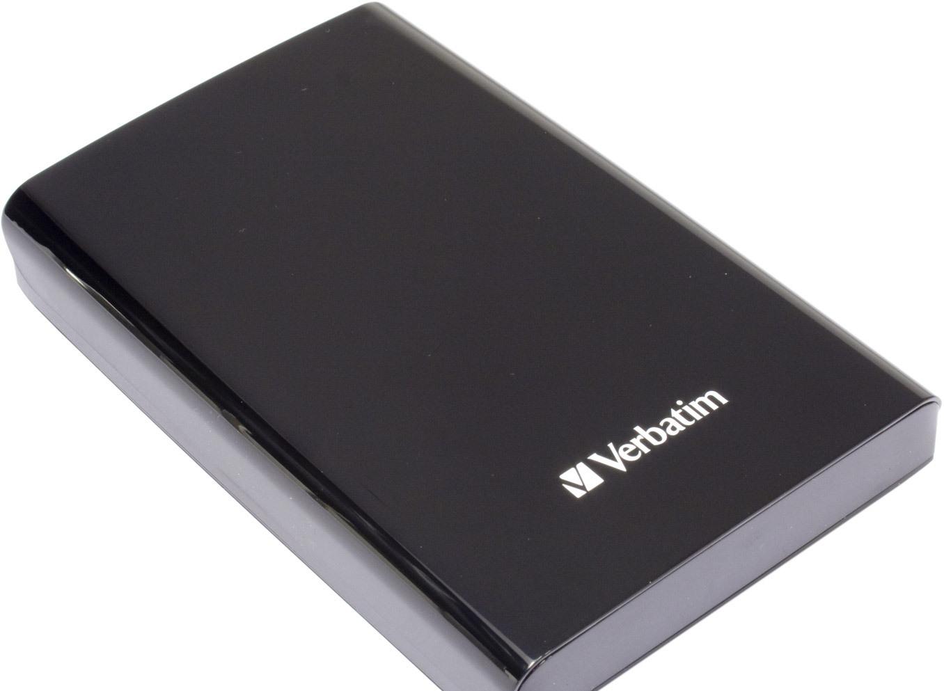 Внешний накопитель Verbatim Store 'n' Go USB 3.0 1TB Black (53023)