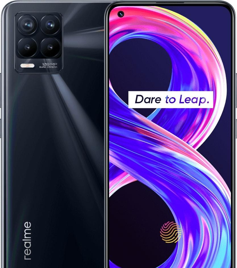 Смартфон Realme 8 Pro 6GB/128GB (черный панк)